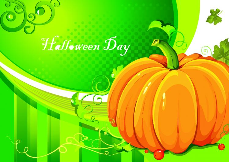 free vector Halloween pumpkin element vector