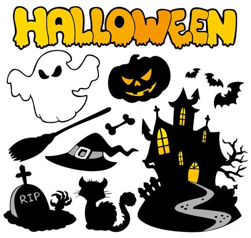 free vector Halloween series vector