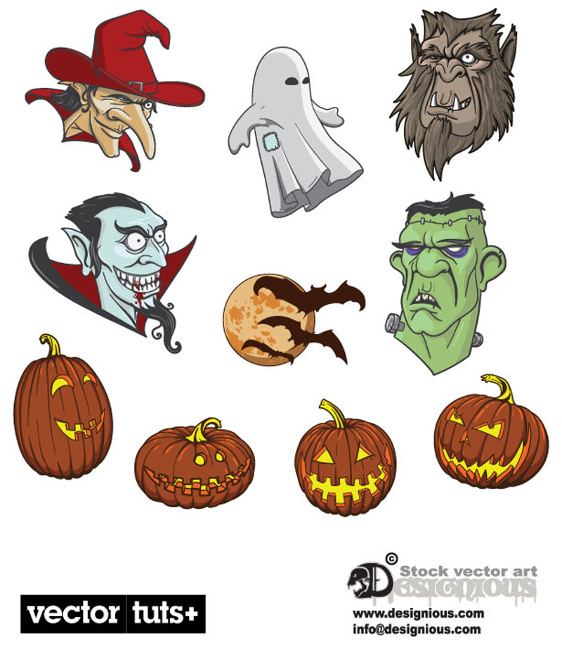 free vector Halloween vector