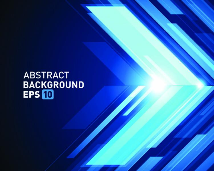 Halo threedimensional abstract background 04 vector Free