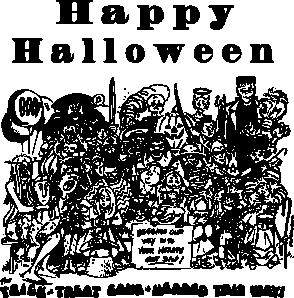 free vector Haloween clip art