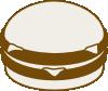 free vector Hamburger clip art