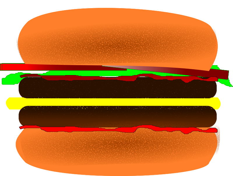 free vector Hamburger