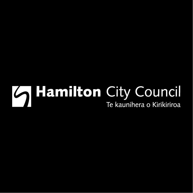 free vector Hamilton city council 1