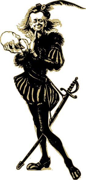free vector Hamlet clip art