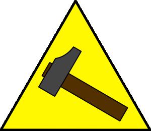 free vector Hammer Sign clip art