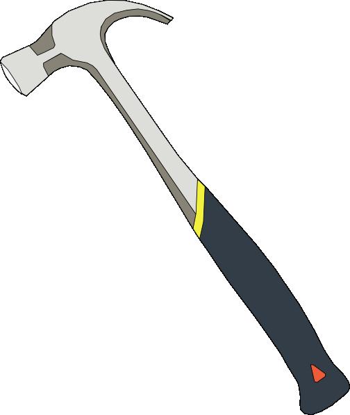 Vector Illustration Hammer: Hammer Tools Clip Art Free Vector / 4Vector