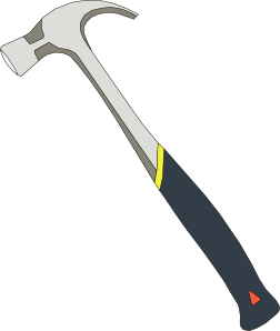 free vector hammer tools clip art 115969 Hammer Tools clip art medium ...