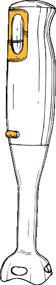 Hand Mixer Clip Art ~ Hand blender clip art free vector