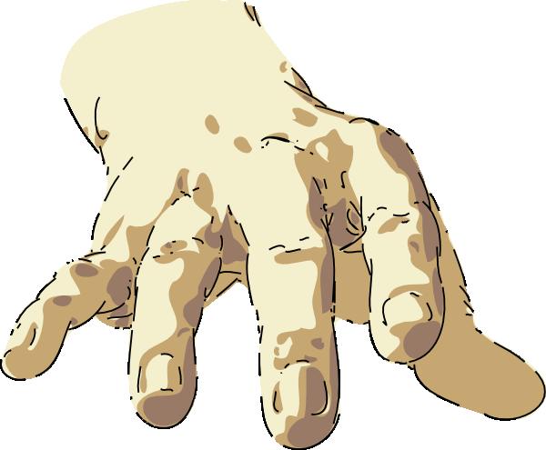 free vector Hand clip art 103871