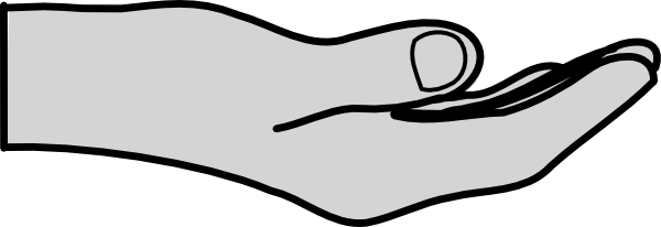 hand clip art free vector 4vector rh 4vector com hand vector logo hand vectors showing 4 fingers