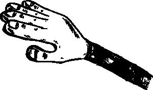 free vector Hand clip art
