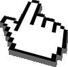 free vector Hand Cursor clip art