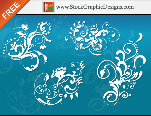 free vector Hand Drawn Floral Free Vector Images
