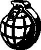 free vector Hand Grenade clip art