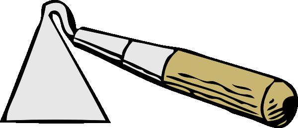 free vector Hand Hoe clip art