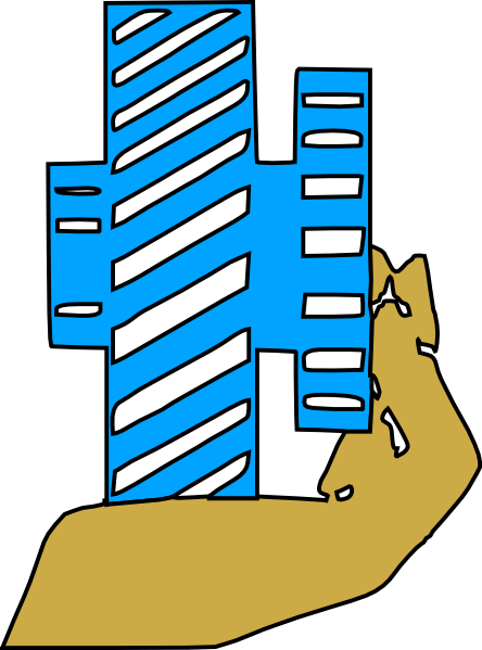 free vector Hand Holding Gear clip art