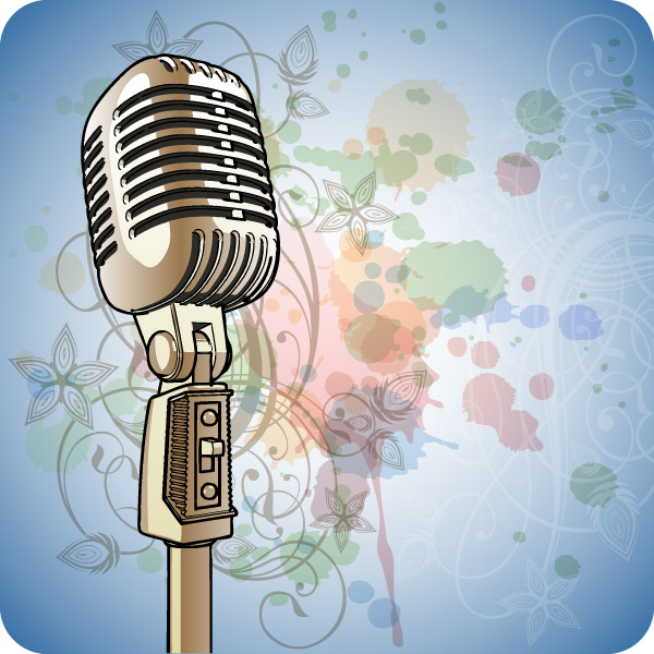 Hand Microphone (4436) Free EPS Download / 4 Vector