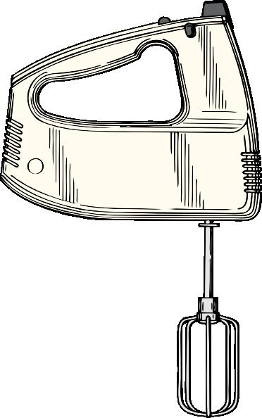 Cartoon Hand Mixer ~ Hand mixer clip art free vector