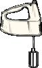 free vector Hand Mixer clip art