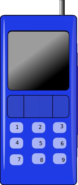 free vector Hand Phone clip art