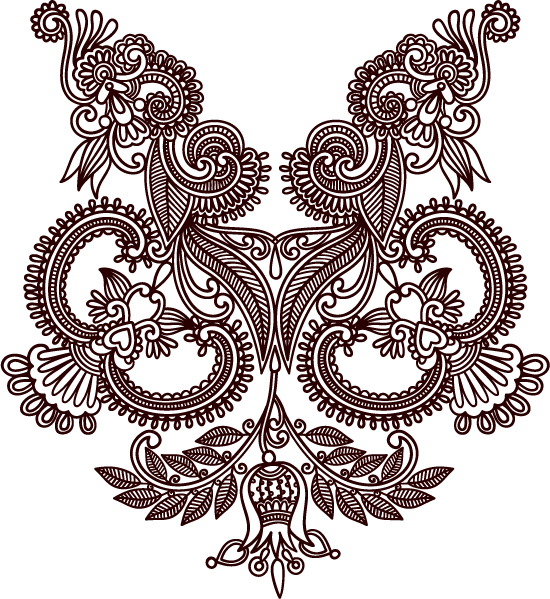 free vector Handdrawn patterns 04 vector