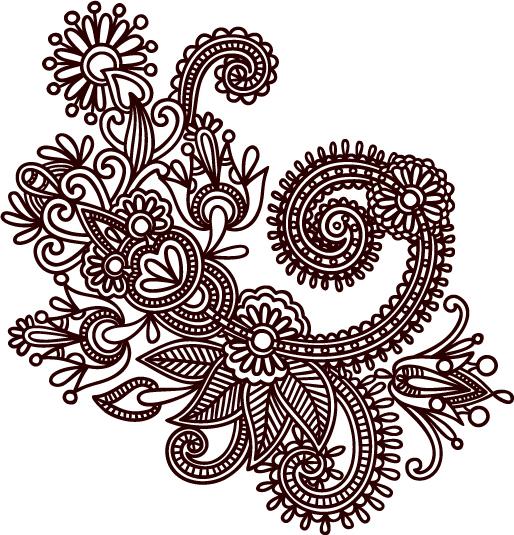 free vector Handdrawn patterns 05 vector