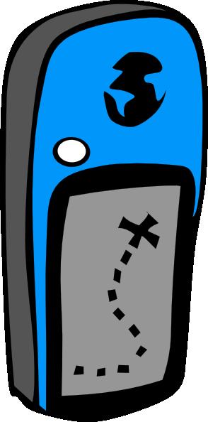 free vector Handheld Gps Device clip art