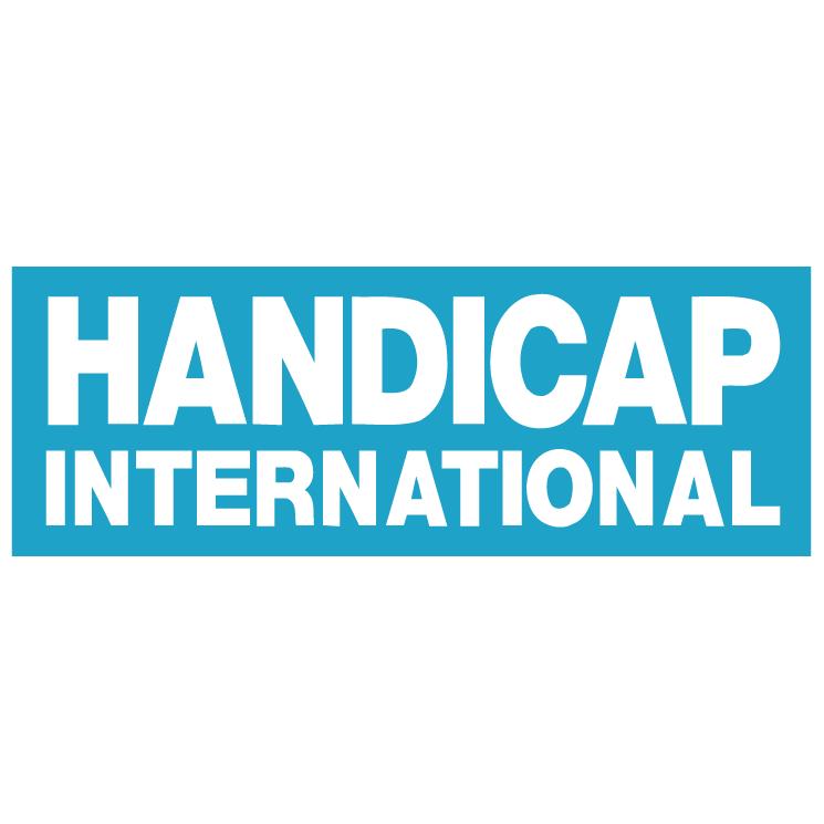 free vector Handicap international