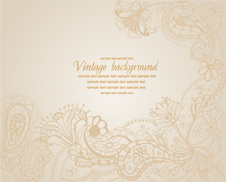 free vector Handpainted background pattern vector