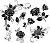 free vector Handpainted flowers 02 vector