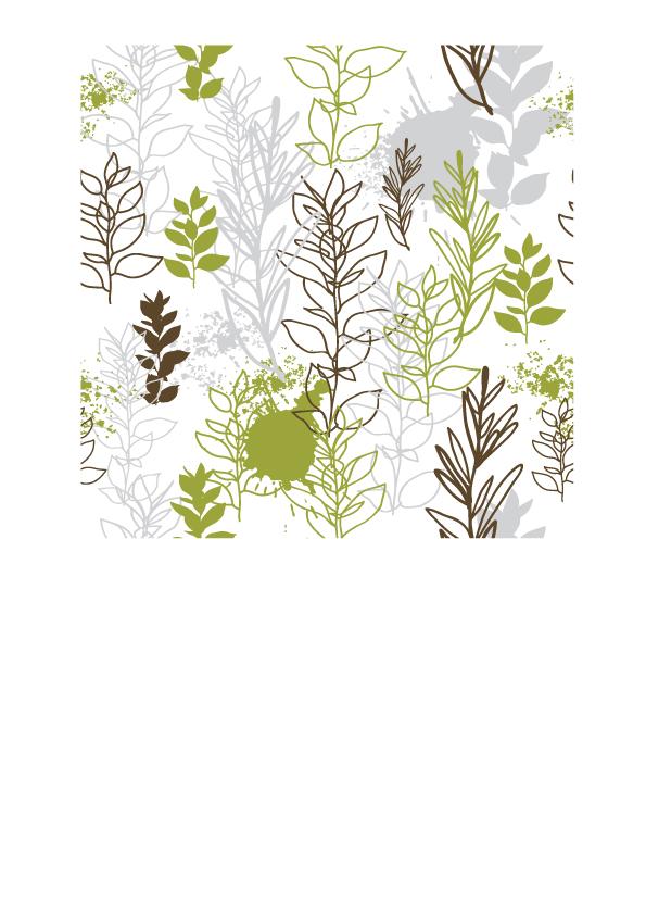 free vector Handpainted plant vector