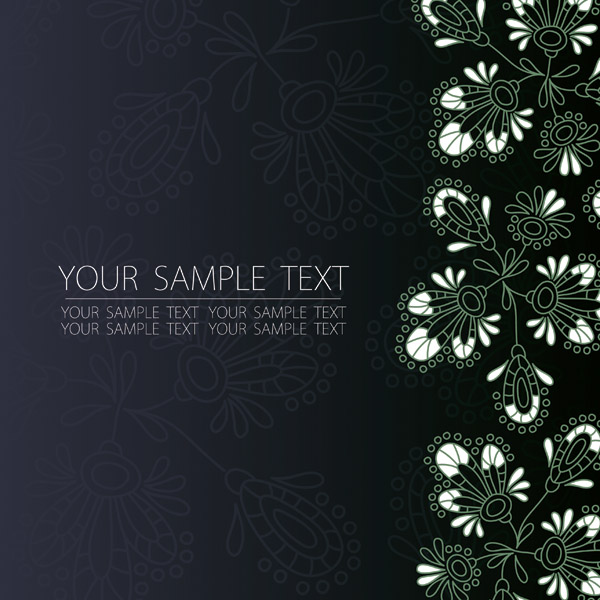 free vector Handpainted style pattern vector 2