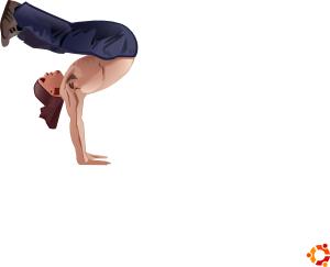free vector Handstand clip art