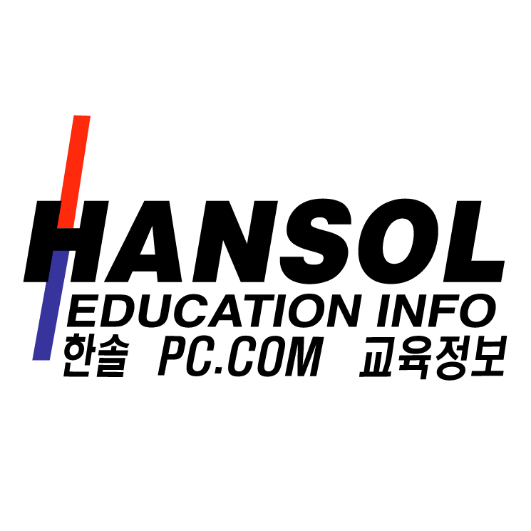 free vector Hansol education info