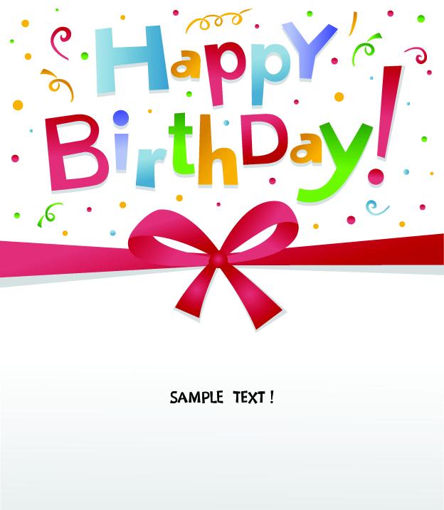 free vector Happy birthday vector