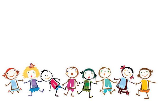 free vector Happy children vector