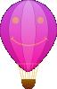 free vector Happy Hot Air Balloon Cartoon clip art