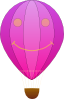 free vector Happy Hot Air Balloon Cartoon clip art