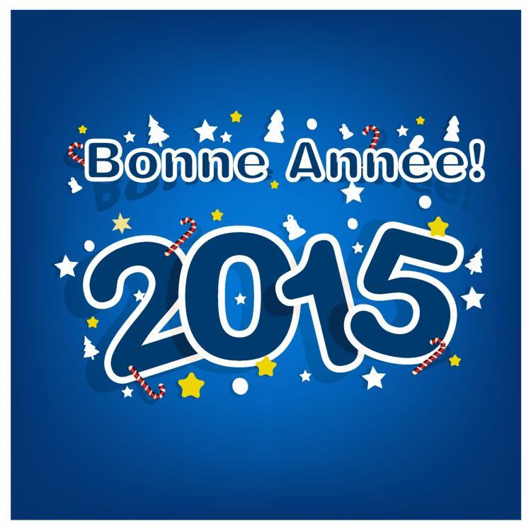 free vector Happy new year 2015