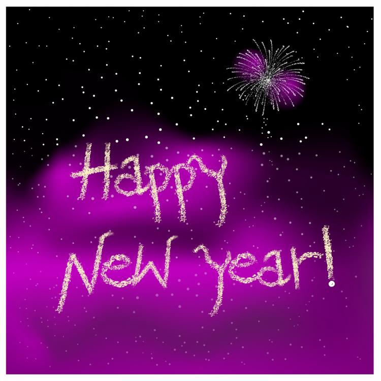 free vector Happy new year