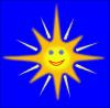 free vector Happy Sun clip art