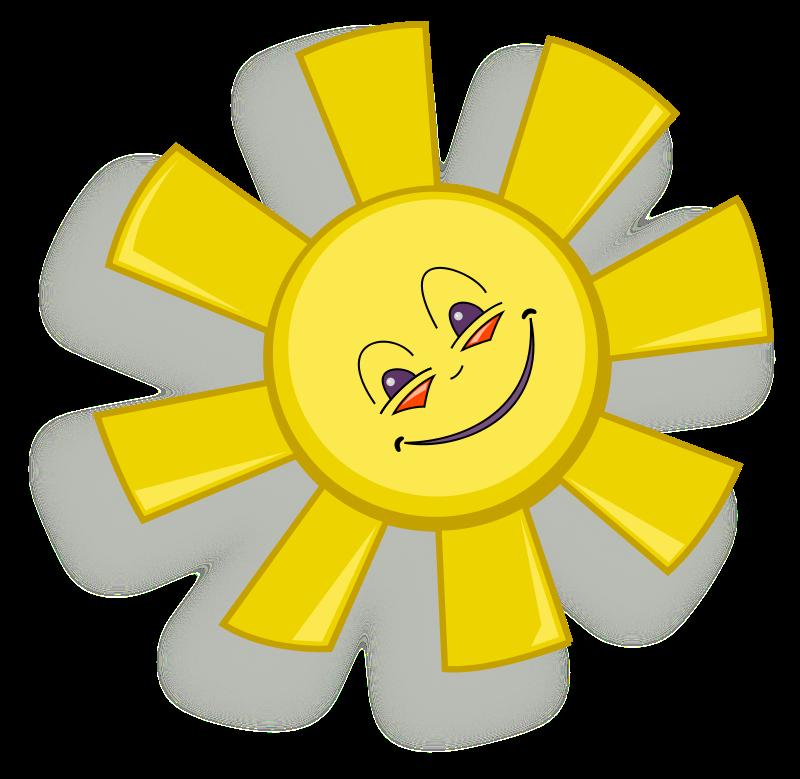 free vector Happy Sun