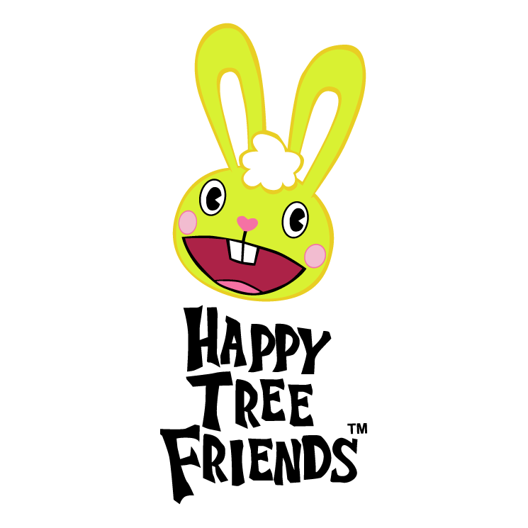 free vector Happy tree friends