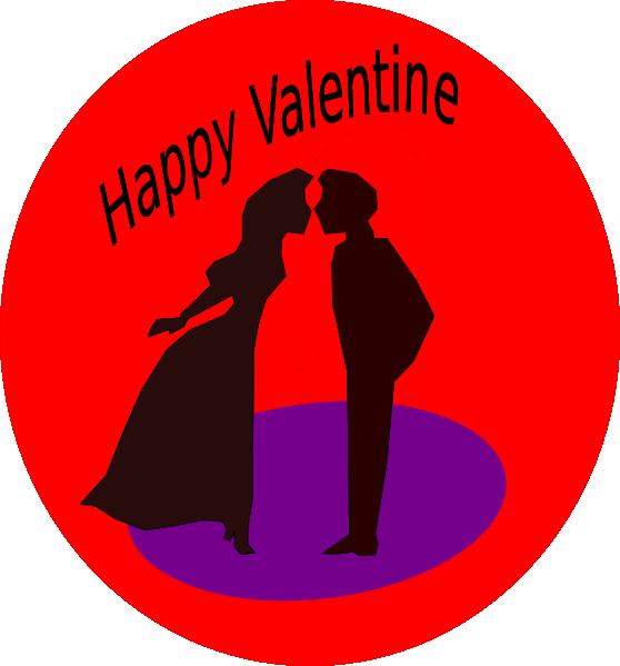 free vector Happy Valentine clip art