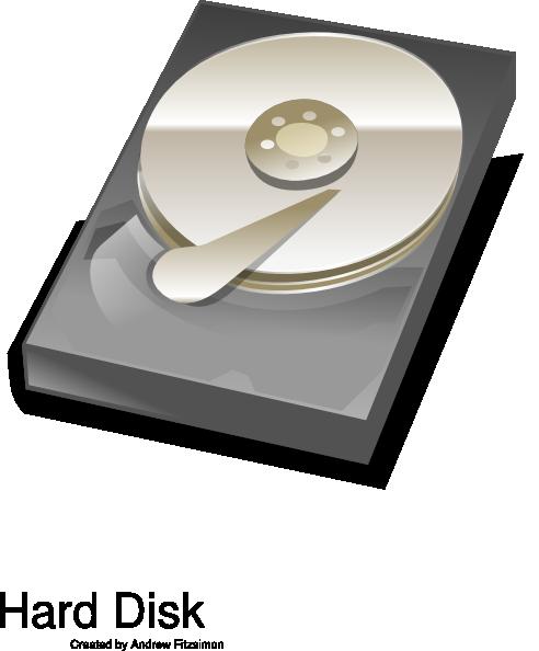 free vector Hard Disk clip art