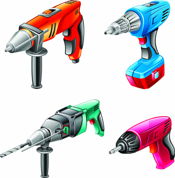 free vector Hardware power tool vector