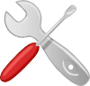 free vector Hardware Tools Workshop Screwdriver Wrench clip art