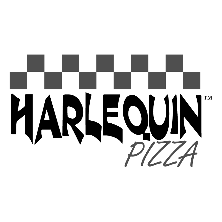 free vector Harle quin pizza