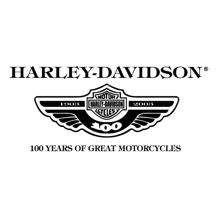 free vector Harley davidson 7